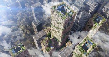 Construirán en Tokio el rascacielos de madera más alto del mundo