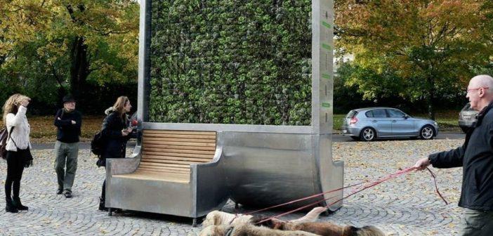 Crean un árbol artificial que absorbe la contaminación