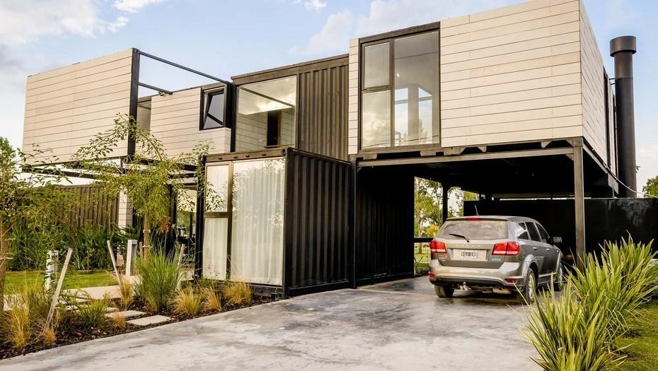 Hacen una vivienda 35 m s barata con contenedores argenprop - Apartamentos en el algarve baratos ...