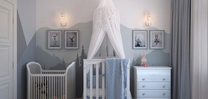 6 tips para decorar la habitación de tu bebé