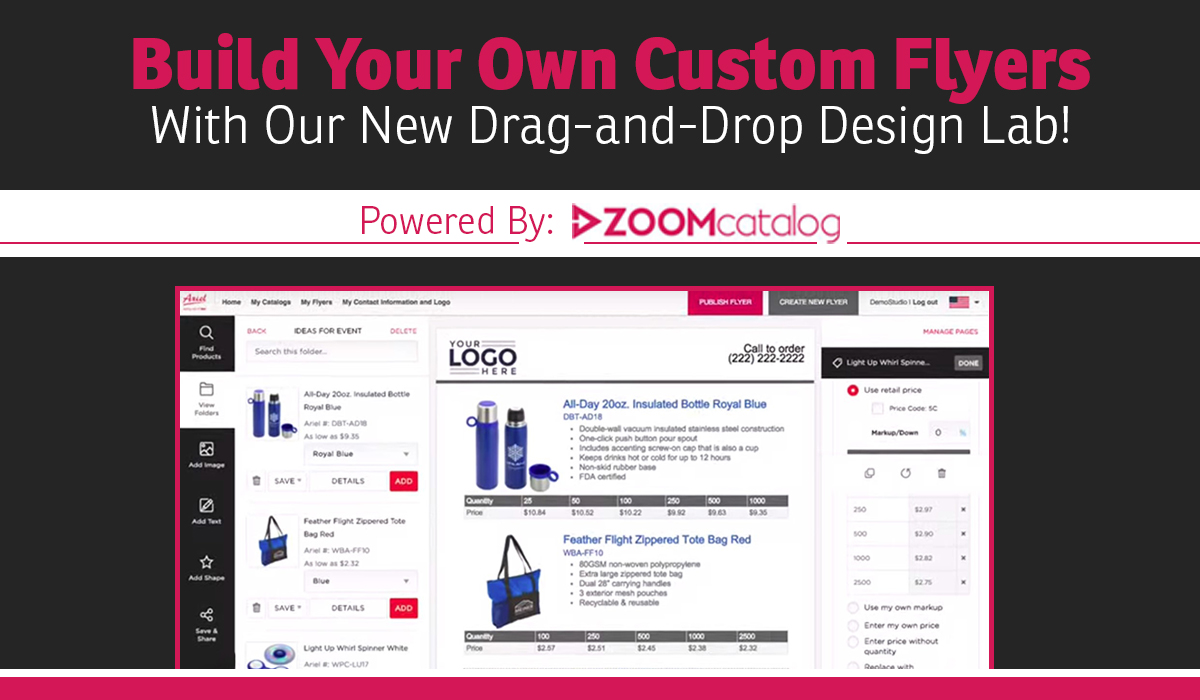 Build Your Own Custom Flyers