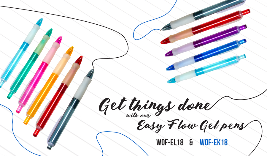 Easy Flow Gel Pens