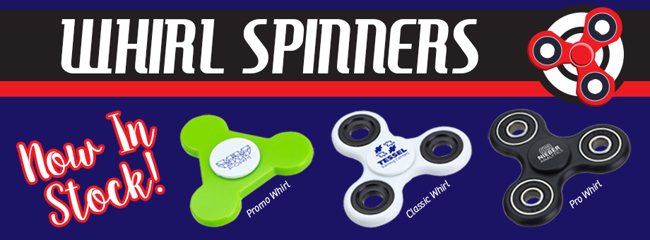 5 New Whirl Spinners