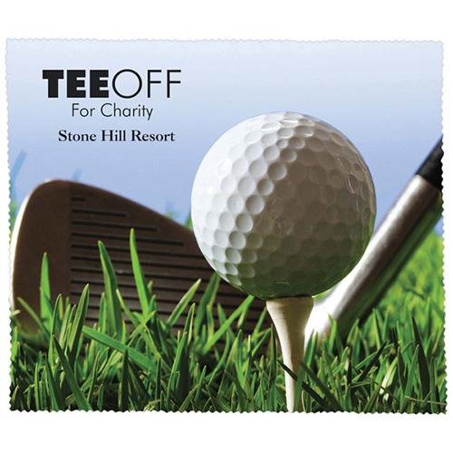 Premium Microfiber Cleaning Cloth - Golf