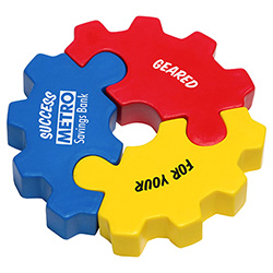 3-Piece Gear Puzzle Set
