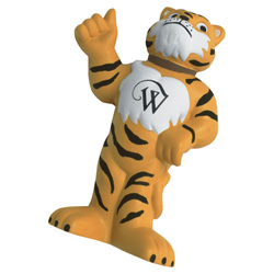 Thumbs Up Tiger Mascot