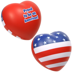 Patriotic Valentine Heart