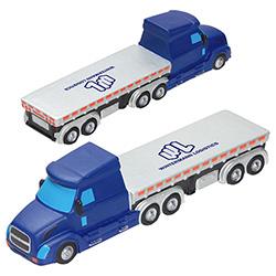Semi Flatbed Truck