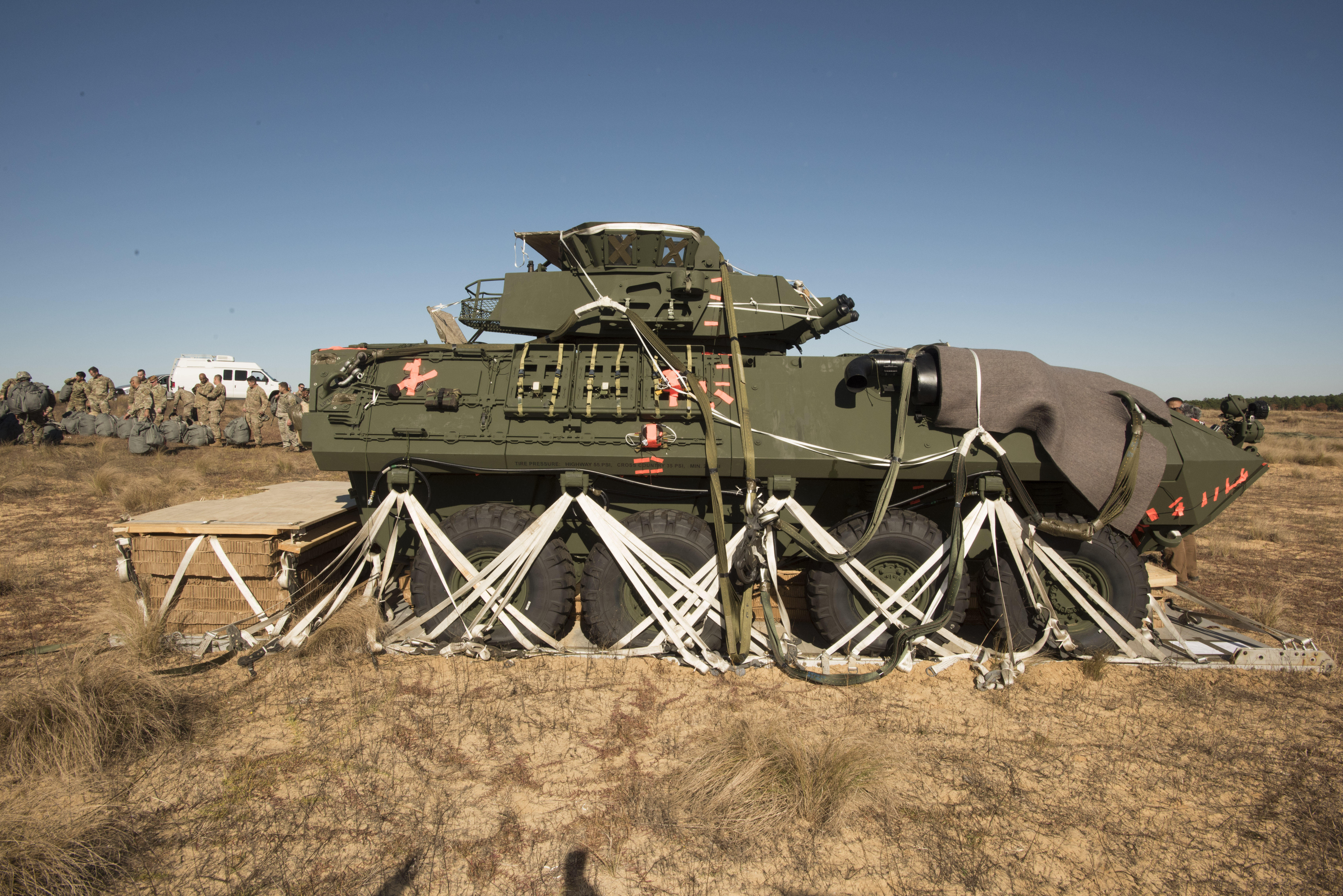 82nd Airborne Division's 3rd Brigade Combat Team airdrop tests Light