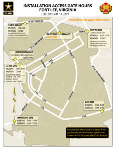 Gate Hours Map