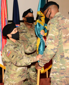 CSM Marissa Cisneros begins tour as Logistics NCOA commandant