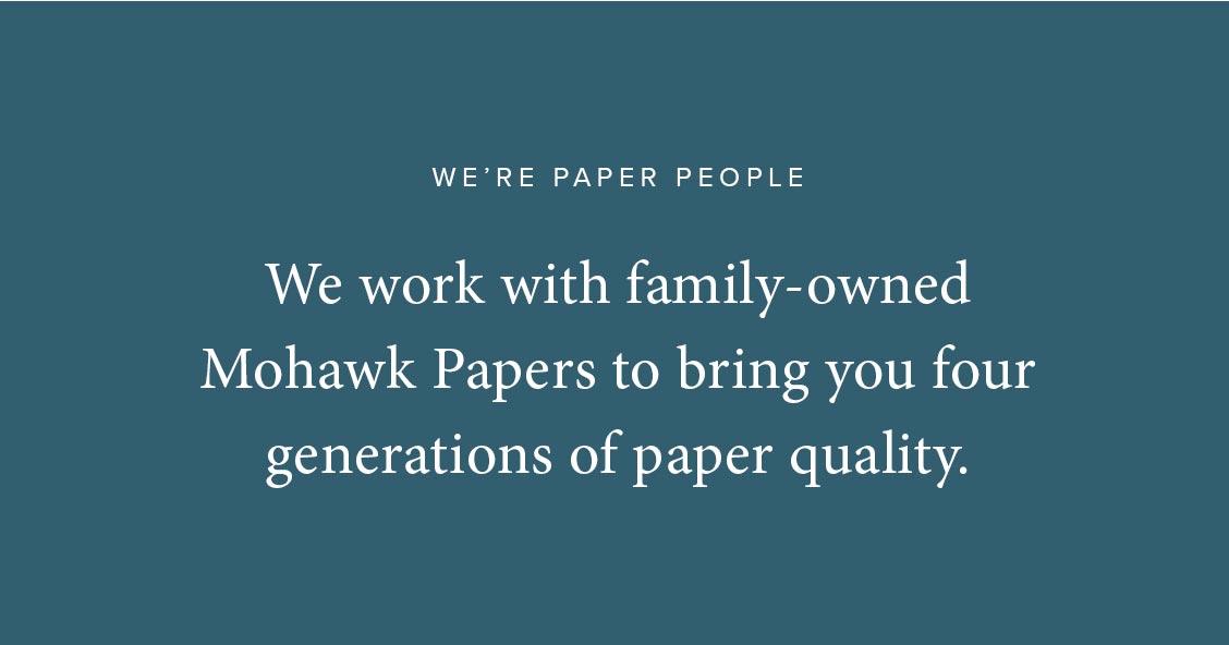 We're Paper People