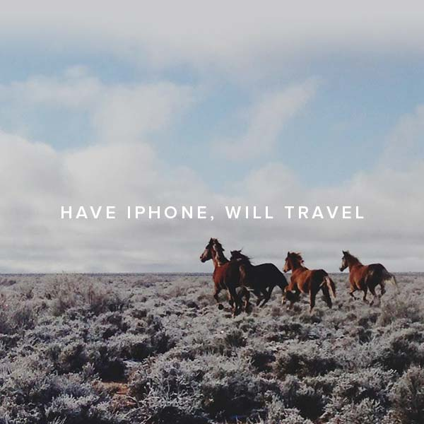 Have iPhone, Will Travel