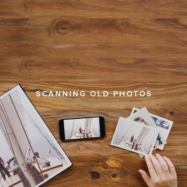 Tips For Scanning Old Photos
