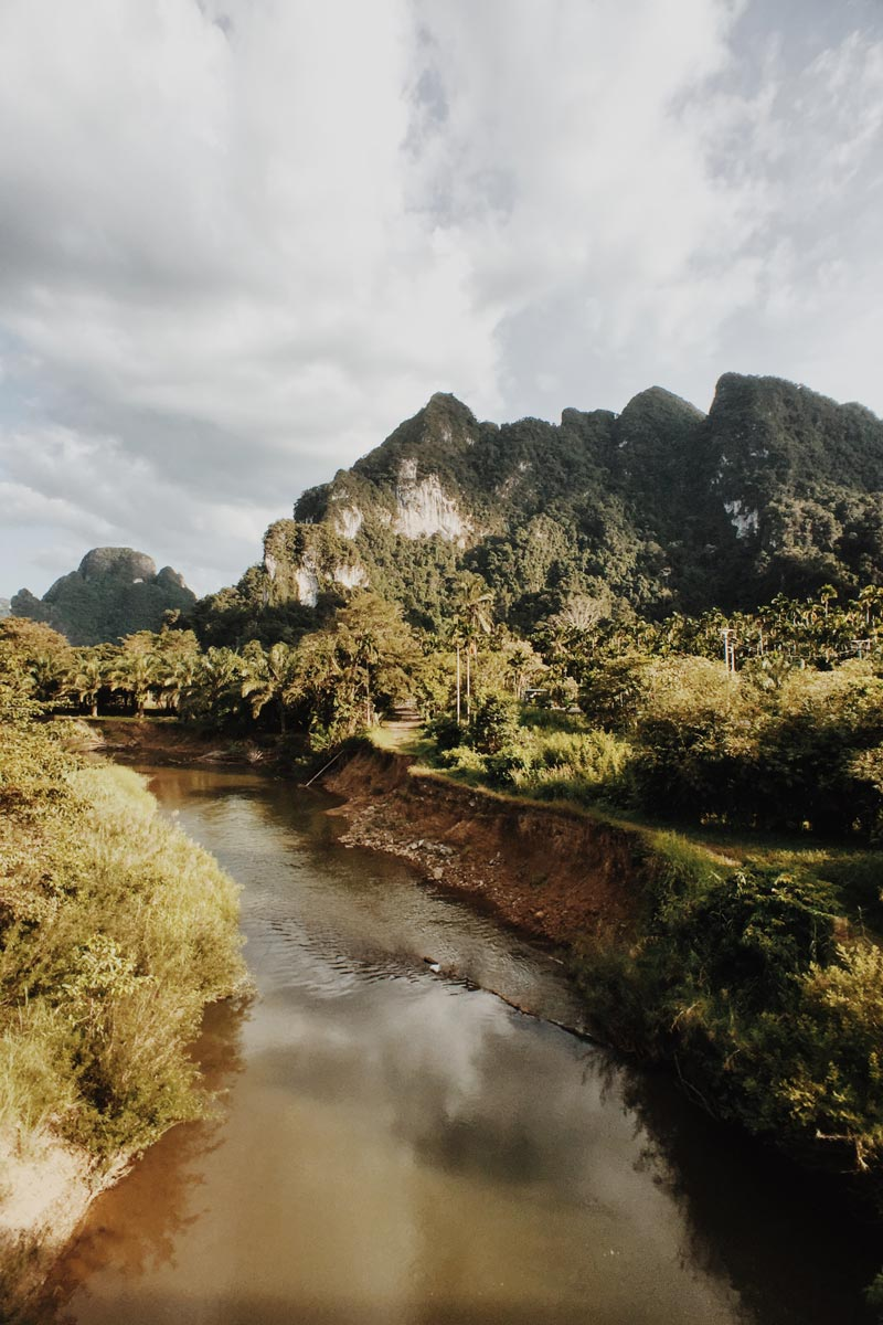 Photo of thai mountains shot by Jon Taylor Sweet with wide lens