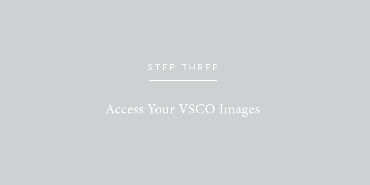 Print Your VSCO Images