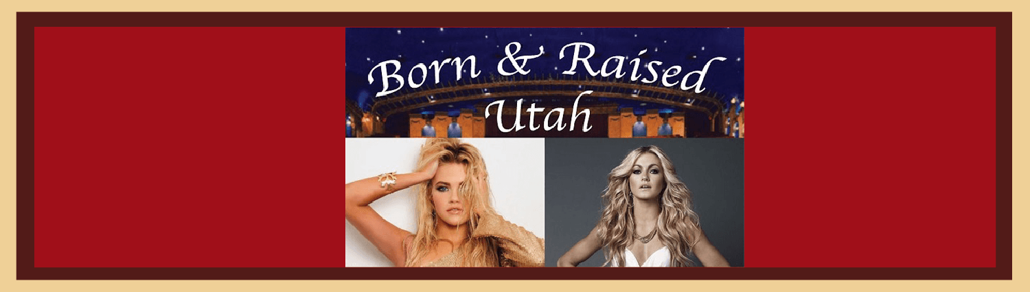 Born and Raised Utah Capitol Theatre Salt Lake City Utah Experience Art