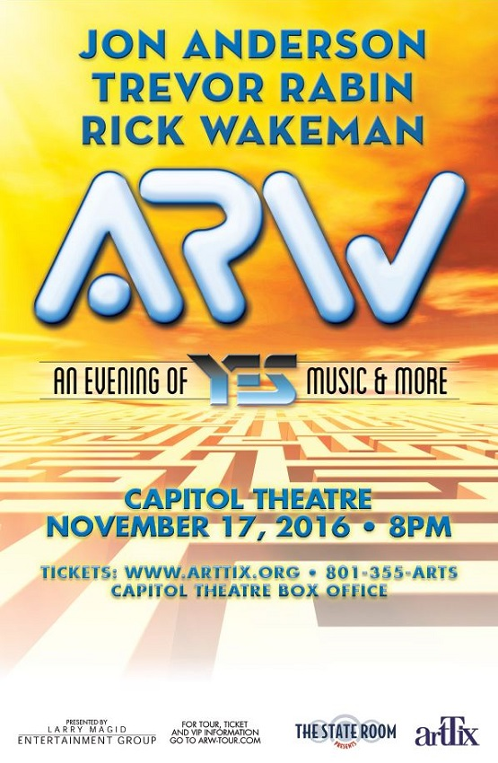 Anderson, Rabin & Wakeman - An evening of YES