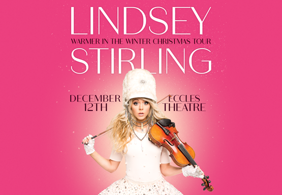 LINDSEY STIRLING Warmer in the Winter