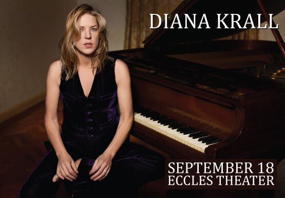 Diana Krall at the piano