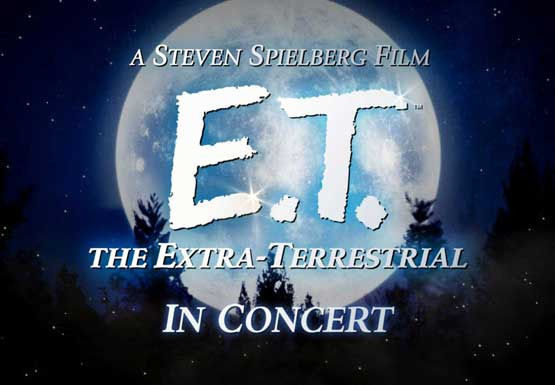E T The Extra Terrestrial Film In Concert With The Utah