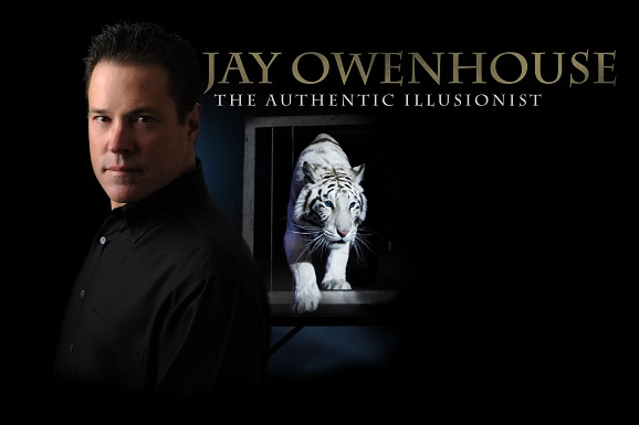 Jay Owenhouse and tiger