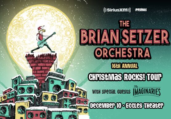 CANCELED-Brian Setzer Orchestra Christmas Rocks! Tour