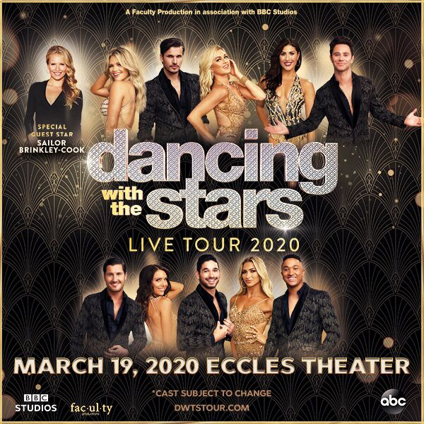Dwts Tour 2020.Dancing With The Stars Live Salt Lake County Arts Culture