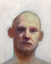 Bald Man Artist Kieran Collins