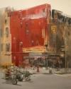 Concurrido Street by Artist