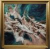Wave - after Bouguereau by Artist Masha Gusova