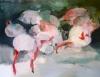 flamingo by Artist Makiko Furuichi