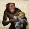 When the Chimp Comes Around by Artist chris leib