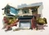 Oakland House Study 8-30-18 Artist Daniel Ochoa