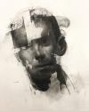 Portrait Study 10-18-17 by Artist Daniel Ochoa