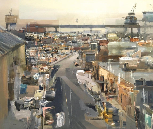 Brooklyn View by Artist Daniel Ochoa