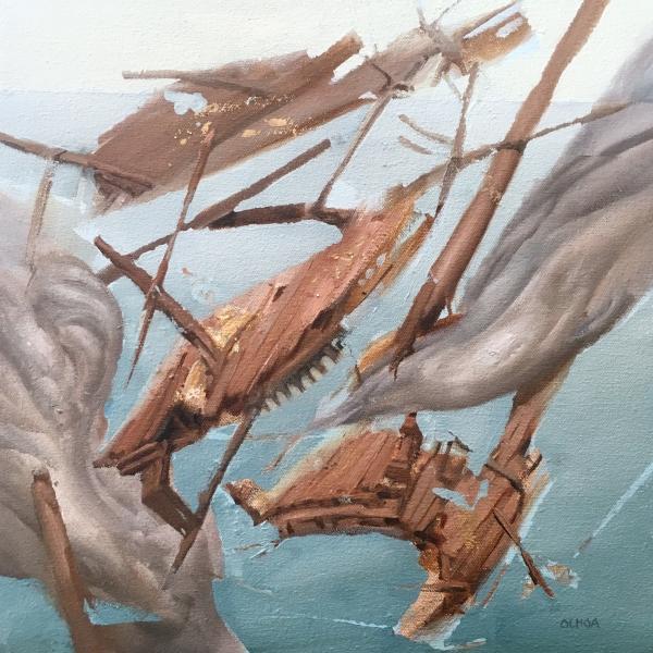 Ship Wreck by Artist Daniel Ochoa