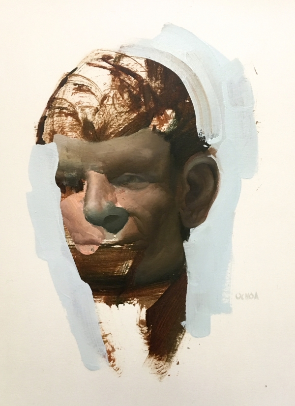 Portrait 1-22-19 by Artist Daniel Ochoa