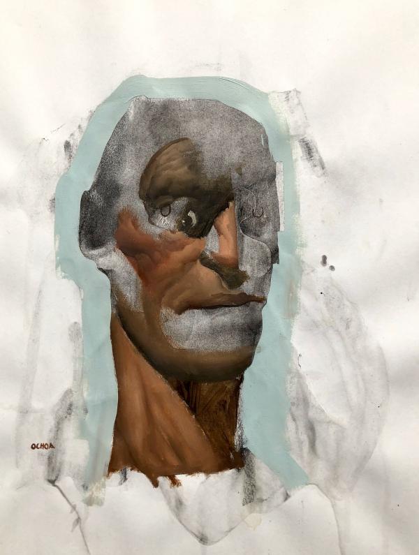 Study 1-22-10 by Artist Daniel Ochoa