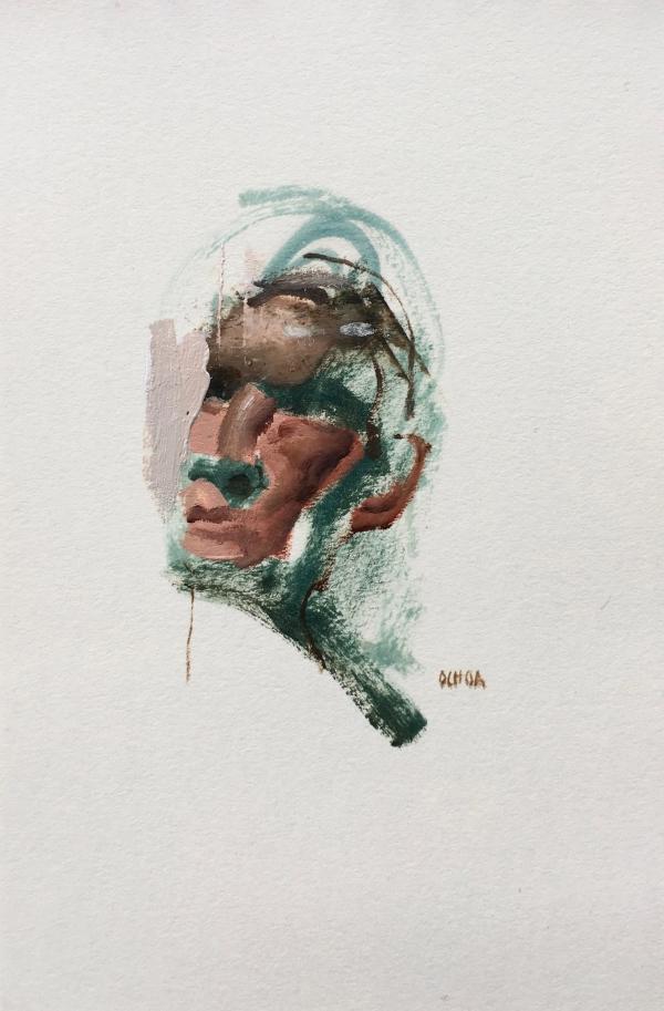 Portrait 1-28-19 by Artist Daniel Ochoa