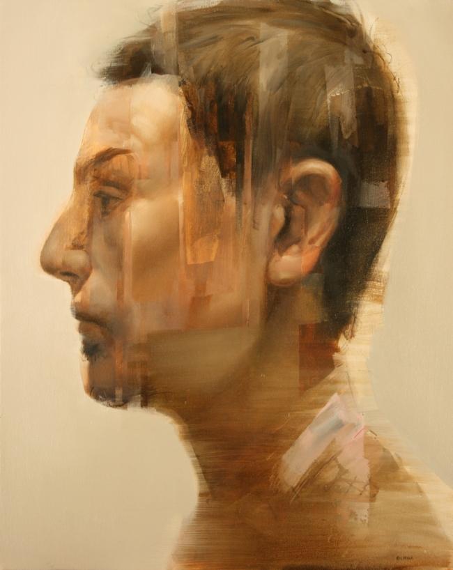 A Retrato by Artist Daniel Ochoa
