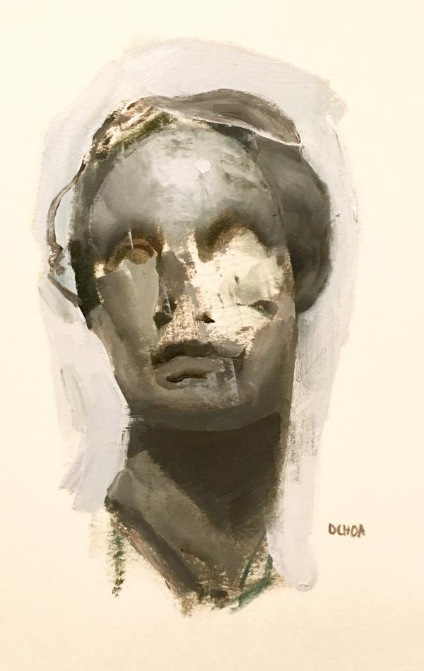 Met Sculpture Study 2-3-19 by Artist Daniel Ochoa