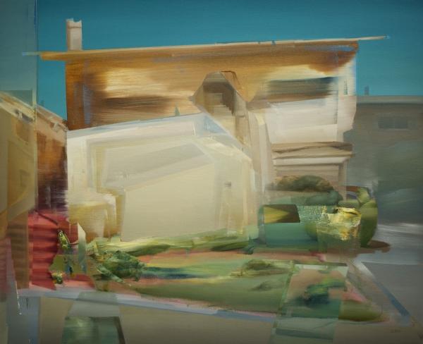 Oakland House 3-19 by Artist Daniel Ochoa