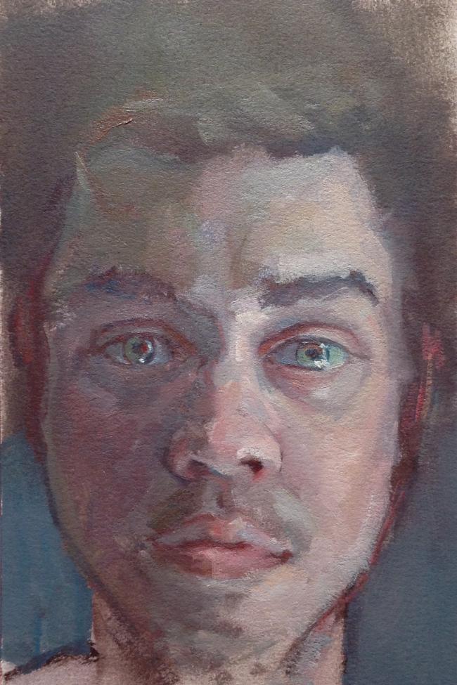 Corey by Artist Kieran Collins