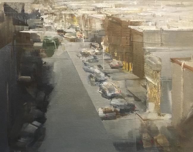Gowanus Study by Artist Daniel Ochoa