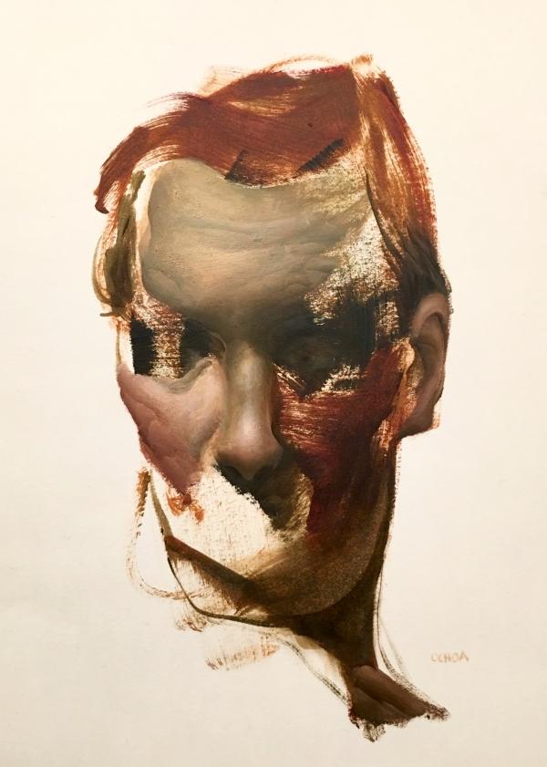 Portrait Study 2-12-19 by Artist Daniel Ochoa