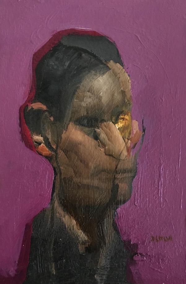 Portrait Study 2-13-18 by Artist Daniel Ochoa