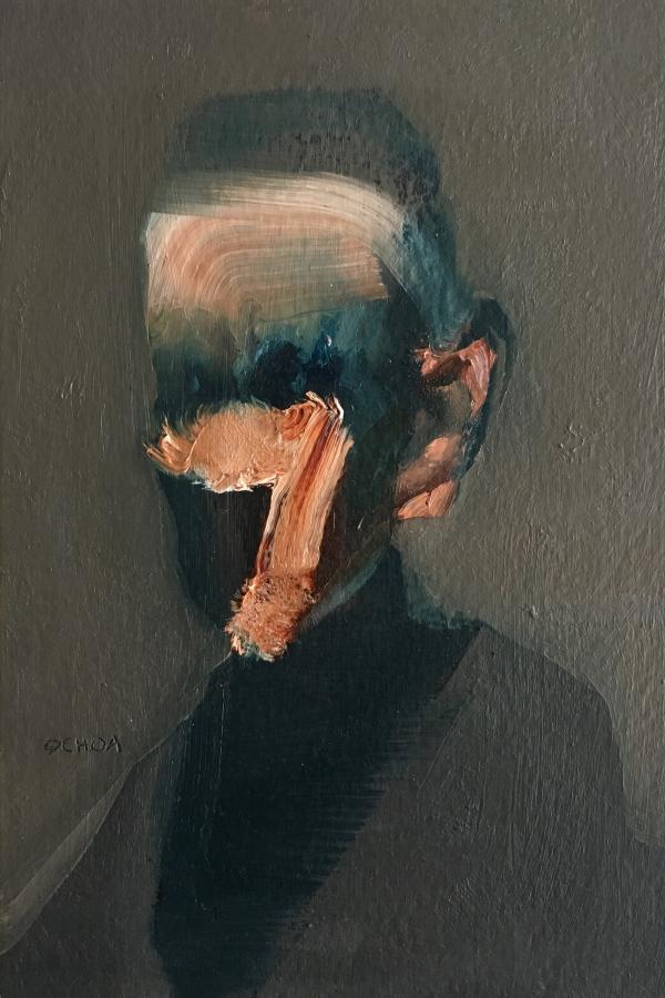 Portrait Study 2-11-18 by Artist Daniel Ochoa