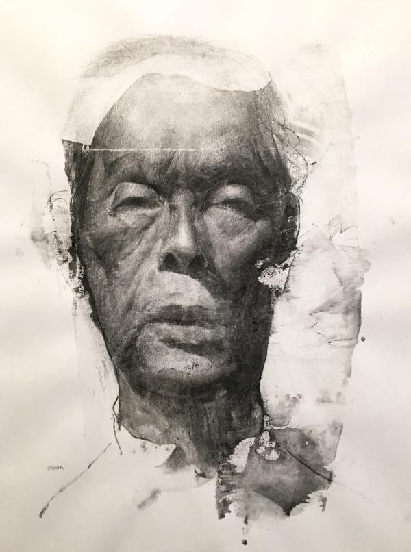 Portrait Study 2-14-19 by Artist Daniel Ochoa