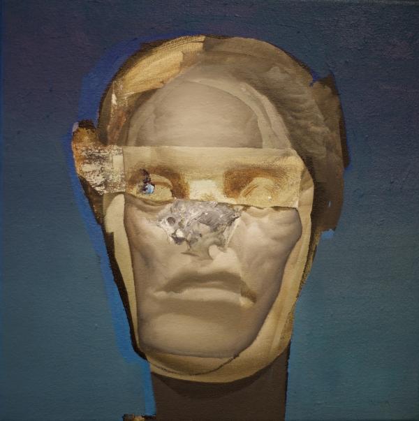 Head Study 2-22-18 by Artist Daniel Ochoa